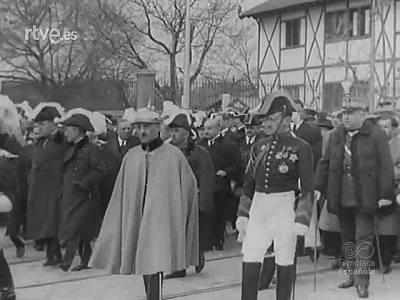 ENTIERRO DEL GENERAL MIGUEL PRIMO DE RIVERA (1930)