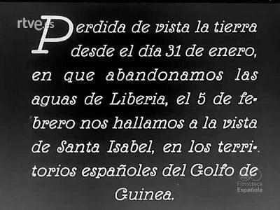 EXPEDICION A GUINEA ESPAÑOLA