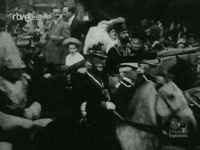 ALFONSO XIII EN BARCELONA
