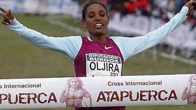 Cross de Atapuerca: carrera femenina