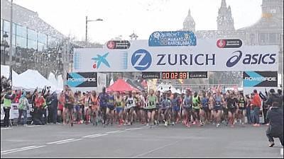 Maratón de Barcelona. Resumen