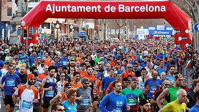Medio Maratón Barcelona 2019 Resumen