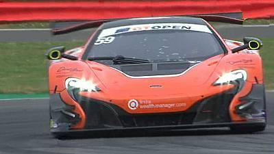 Internacional GT Open 2ª carrera (Silverstone)