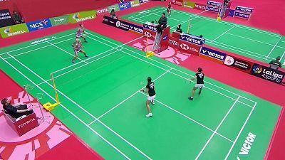 Barcelona Spain Masters Semifinal Doble Femenina: Bulagaria - Tailandia