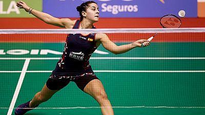 Barcelona Spain Masters Semifinal Individual Femenina: C. Marín - S. Katethong