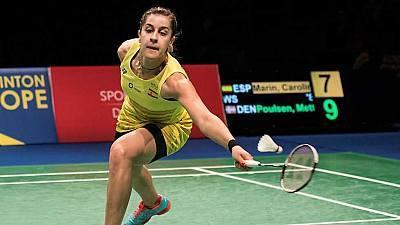 Campeonato de Europa. Semifinal: C. Marín - M. Poulsen