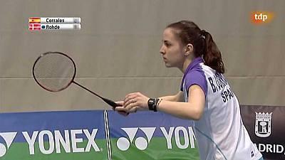 Internacional Challenge 'Spanish Open'. Semifinal femenina