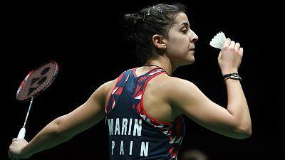 Malaysia Masters. 1/4 Final: S. Nehwal - C. Marín