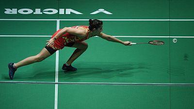 Malaysia Masters. Semifinal: C. Marín - Yu Fei Chen