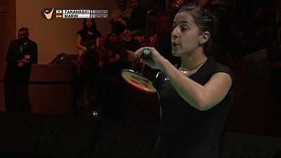Semifinal del Grand Prix Gold 'German Open': Sayaka Takahashi - Carolina Marín