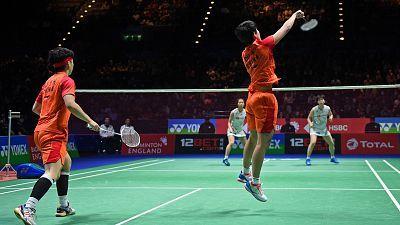 Yonex All England Open Championship. Final Doble Femenina: Y. Fukushima/S.Hirota - Du Yue/Li Yin Hui