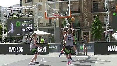Baloncesto 3x3 -  Herbalife Nutrition 3x3 - Series Madrid