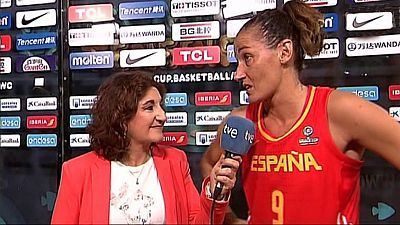 Baloncesto - Campeonato del Mundo Femenino 2018. Postpartido España - Japón