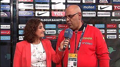 Baloncesto - Campeonato del Mundo Femenino 2018. Previo España - Japón