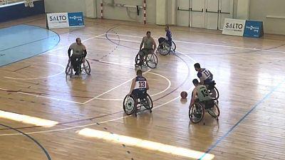 Baloncesto en silla de ruedas - Liga nacional. Resumen- 22/01/20