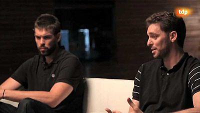 Baloncesto - Entrevista a los hermanos Gasol