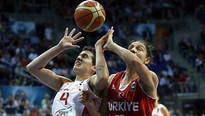 Baloncesto femenino - Campeonato del Mundo, 1ª Semifinal: España-Turquía