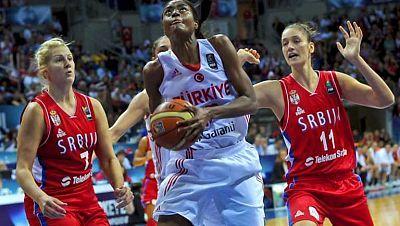 Baloncesto femenino - Campeonato del Mundo, cuartos de final: Turquía-Serbia