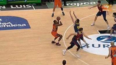 Baloncesto - Liga ACB. 18ª jornada: Valencia Basket-FC Barcelona
