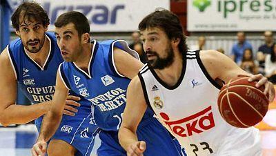 Baloncesto - Liga ACB. 2ª jornada. Gipuzkoa Basket - Real Madrid