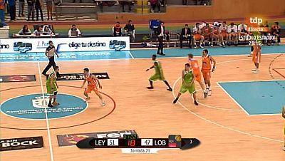 Baloncesto - Liga Adecco Oro. 21ª jornada: Leyma Natura Coruña - Lobe Huesca