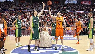 Baloncesto - Liga Endesa. 23ª jornada: Valencia Basket-Unicaja Málaga
