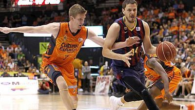 Baloncesto - Liga Endesa, Play off Semifinales : Valencia Basket-FC Barcelona