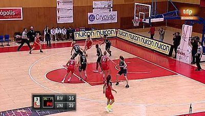 Baloncesto - Liga española femenina. 11ª jornada: Rivas Ecópolis - Spar Unigirona