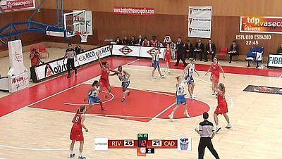 Baloncesto - Liga española femenina. 2º Play Off. 1º partido: Rivas Ecópolis - Cadí ICG