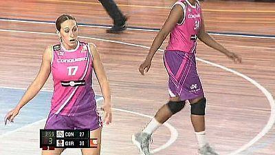 Baloncesto - Liga europea femenina: Play Off. Semifinal: CB Conquero Huelva Wagen-Spar Citylift Girona
