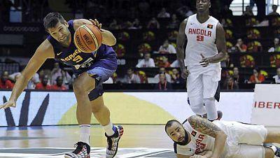 Baloncesto - Preparación Campeonato del Mundo. España - Angola