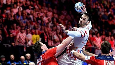 Campeonato de Europa Masculino. 1ª Semifinal: Noruega - Croacia
