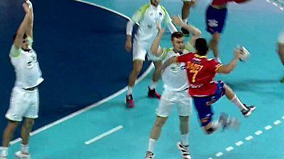 Campeonato del Mundo Junior: Eslovenia - España
