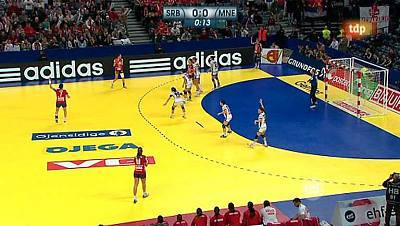 Campeonato europeo femenino, 2ª semifinal: Serbia-Montenegro