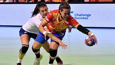 Clasificación Campeonato de Europa Femenino. 1ª jornada: España - Grecia