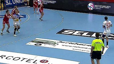 Clasificación Campeonato de Europa Femenino. 2ª jornada: Austria - España