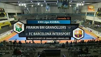 Liga ASOBAL: Fraikin BM Granollers - FC Barcelona Intersport - 30/11/11