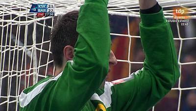 Liga Campeones. Final four 1ª semifinal: KS Vive Targi Kielce-FC Barcelona