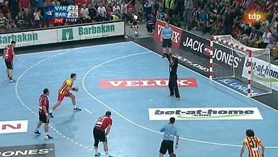 Liga de Campeones. 1ª jornada - HC Vardar Pro Skopje - FC Barcelona