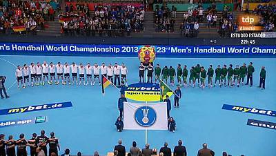 Mundial de Balonmano - Grupo A: Alemania - Brasil