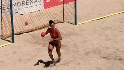 Playa - Arena Handball Tour 2 Prueba Bueu. Resumen