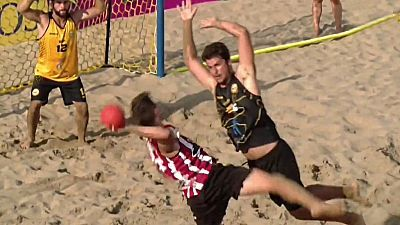 Playa - Arena Handball Tour 5 Valencia. Resumen