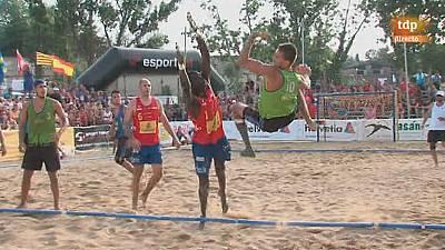 Playa - Campeonato de Europa. Semifinal masculina
