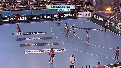 Preolímpico femenino: España-Argentina - 25/05/12