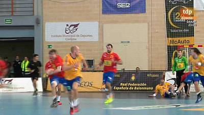 Torneo internacional de España: España - Suecia