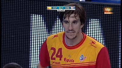 Torneo preolímpico masculino - España-Serbia