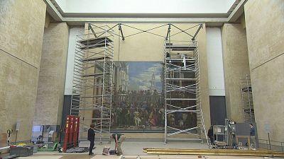 El Louvre desde dentro
