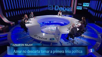 Aznar torna a primera plana