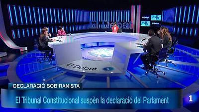 Debat: El TC declara iconstitucional la declaració sobiranista