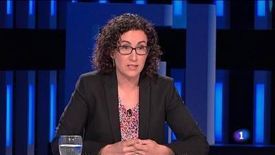 Marta Rovira: 'ERC está poc còmode en la situació actual. Intentem complir el pacte d'estabilitat'